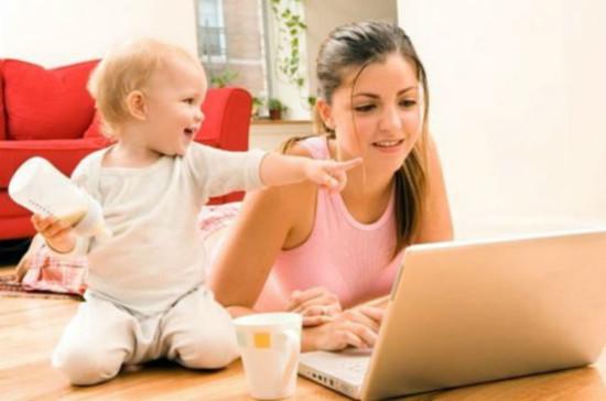 как найти работу в интернете мамам