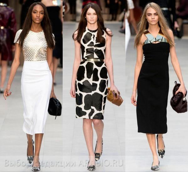 осенняя мода 2014