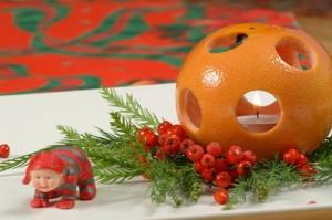 апельсиновые поделки на новый год