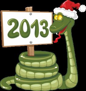 символ нового года 2013
