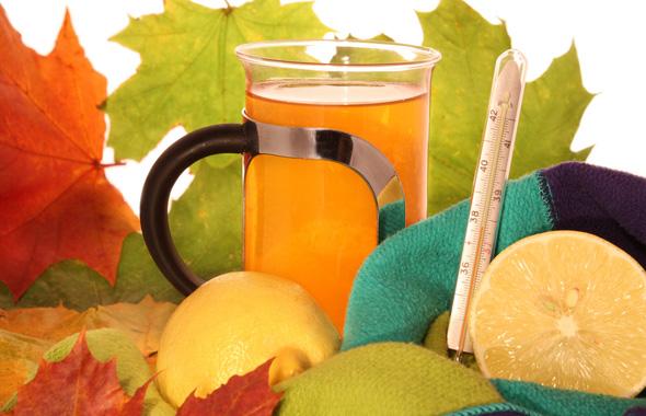 чаи и отвары против простуды